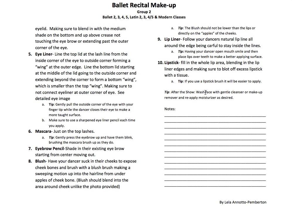 make up group 2 part 2